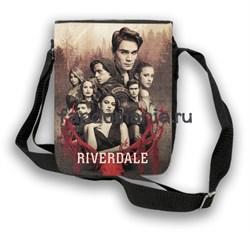 "Сумка с клапаном ""Ривердейл"" (Riverdale) - фото 22520"