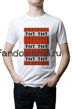 "Футболка ""TNT"" (Minecraft) - фото 22624"