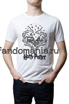 "Футболка ""Хогвартс"" (Harry Potter) - фото 22740"