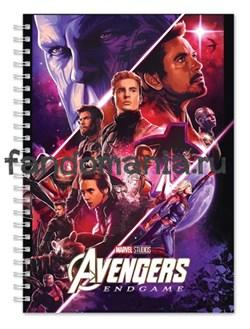 """Блокнот """"Мстители. Финал"""" Marvel - фото 23731"""