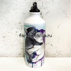 Бульдожки | Бутылка для воды - фото 24291