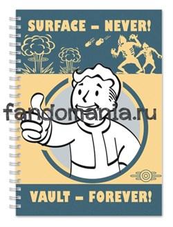 """Блокнот """"Fallout"""" - фото 24692"""