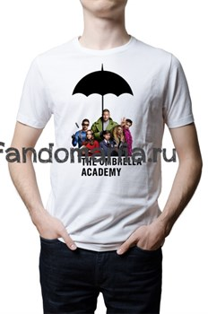 "Футболка ""Академия Амбрелла"" (Umbrella Academy) - фото 29821"