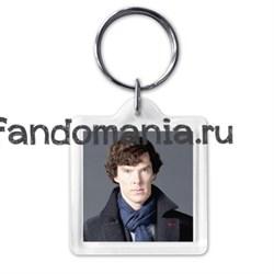 "Брелок ""I belive in Sherlock"" - фото 3883"