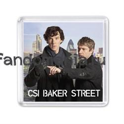 "Магнит ""CSI Baker Street"" (Шерлок) - фото 3904"