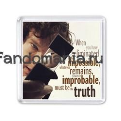 """Магнит """"Impossible"""" (Шерлок) - фото 3924"""