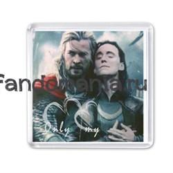 """Магнит """"Тор и Локи"""" (Мстители) - фото 3958"""