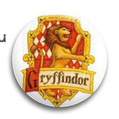 "Значок ""Гриффиндор"" (Гарри Поттер) - фото 3973"