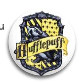 "Значок ""Хаффлпафф"" (Гарри Поттер) - фото 3977"