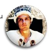 "Значок ""Джим в короне""  (Шерлок) - фото 4016"