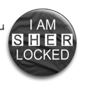 "Значок ""I am sherlocked""  (Шерлок) - фото 4038"