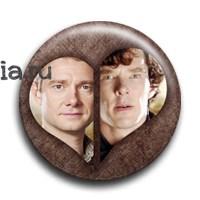 """Значок  """"Шерлок и Джон"""" - фото 4045"""