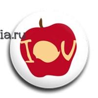 """Значок """"IOU"""" (Шерлок) - фото 4056"""