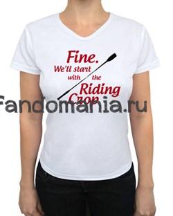 "Футболка ""Riding Crop"" (Шерлок) - фото 4123"