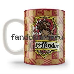 "Кружка ""Гриффиндор"" (Гарри Поттер) - фото 4233"