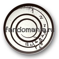 "Тарелка ""Часы Уилла"" - фото 4320"