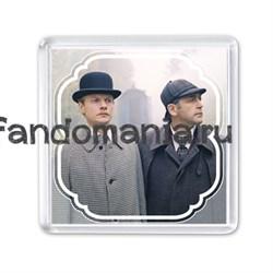 """Магнит """"Шерлок Холмс и доктор Ватсон"""" (Ленфильм) - фото 4351"""