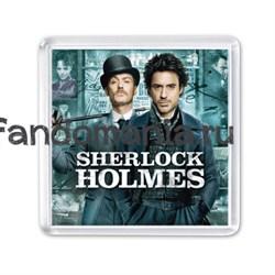 """Магнит """"Шерлок Холмс"""" (Гай Ричи) - фото 4353"""