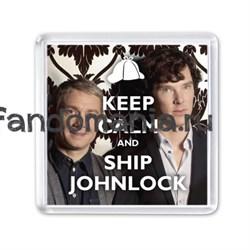 """Магнит """"Ship Johnlock"""" - фото 4361"""