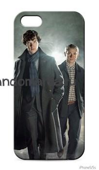 """Чехол для мобильного телефона """"Шерлок и Джон"""" - фото 4547"""