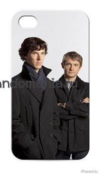 """Чехол для мобильного телефона """"Шерлок и Джон"""" - фото 4570"""