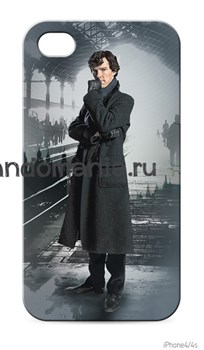 """Чехол для мобильного телефона """"Шерлок"""" - фото 4571"""