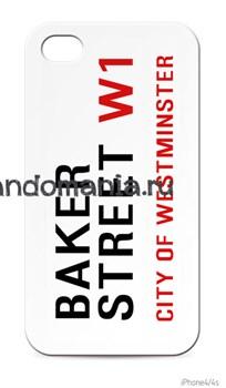 """Чехол для мобильного телефона """"Бейкер Стрит"""" (Шерлок) - фото 4577"""