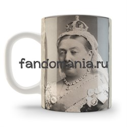"Кружка ""Drink tea and think of England"" - фото 4596"