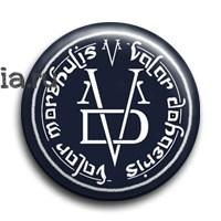 """Значок """"Valar morghulis"""" (Игра престолов) - фото 4612"""