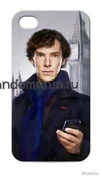 """Чехол для мобильного телефона """"Шерлок. Биг Бен"""" - фото 4658"""