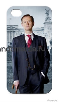 "Чехол для мобильного телефона ""Майкрофт. Букингемский дворец"" (Шерлок) - фото 4660"