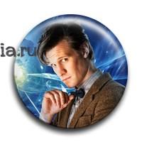 "Значок ""11 Доктор"" - фото 4722"