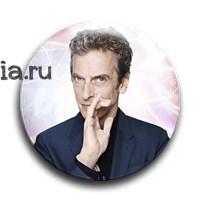 "Значок ""12 Доктор"" - фото 4724"
