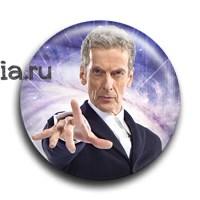 "Значок ""Двенадцатый Доктор"" - фото 4725"