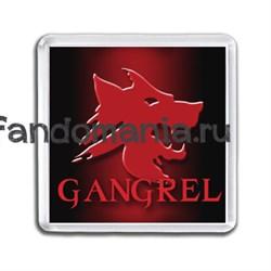 """Магнит """"Gangrel"""" (Вампиры: Маскарад) - фото 4785"""
