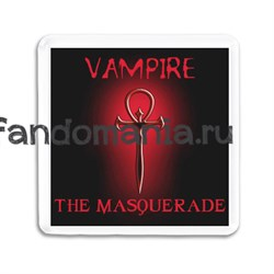"Магнит ""Masquarade"" (Вампиры: Маскарад) - фото 4788"