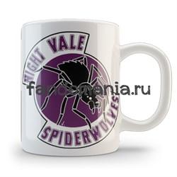 """Кружка """"Spiderwolves"""" (Найт вейл) - фото 4882"""
