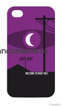 "Чехол для мобильного телефона ""Welcome to Night Vale"" (Найт Вейл) - фото 4897"