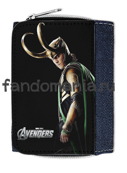 "Кошелек ""Loki"" (Мстители) - фото 5048"