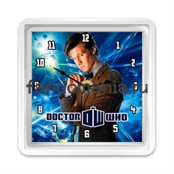 "Часы ""11 Доктор"" (Доктор Кто) - фото 5174"