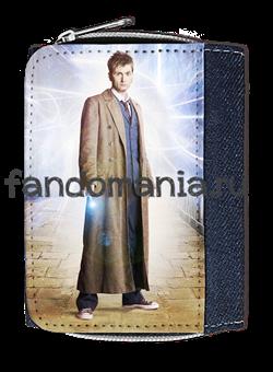 """Кошелек """"Десятый Доктор"""" (Доктор Кто) - фото 5183"""