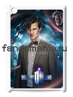"Чехол для iPad ""Одиннадцатый Доктор"" (Доктор Кто) - фото 5204"