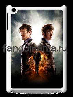 "Чехол для iPad ""Два Доктора"" (Доктор Кто) - фото 5205"