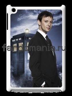 "Чехол для iPad ""Мастер и Тардис"" (Доктор Кто) - фото 5207"