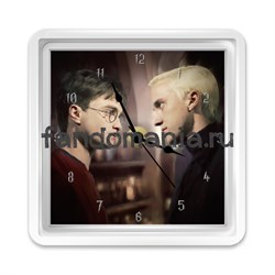 "Часы ""Гарри и Драко"" (Гарри Поттер) - фото 5232"