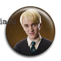 "Значок ""Драко Малфой"" (Гарри Поттер) - фото 5240"