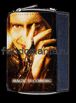 """Кошелек """"Румпельштильцхен. Magic is coming"""" (Однажды в сказке) - фото 5387"""