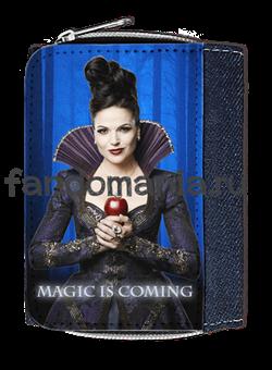 """Кошелек """"Злая Королева. Magic is coming"""" (Однажды в сказке) - фото 5389"""