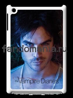 """Чехол для iPad """"Дэймон Сальваторе"""" (Дневники Вампира) - фото 5504"""