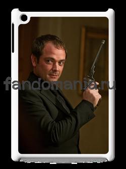 """Чехол для iPad """"Кроули"""" (Сверхъестественное) - фото 5514"""